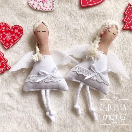 Andělka něhy lásky a čistoty 17cm
