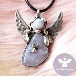 Náhrdelník Anděl Chalcedon Uklidním Tě