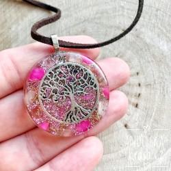 Orgonitový náhrdelník Ochrana Detox čištění aury