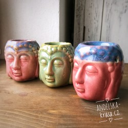Aroma lampa Buddha růžový / zelený