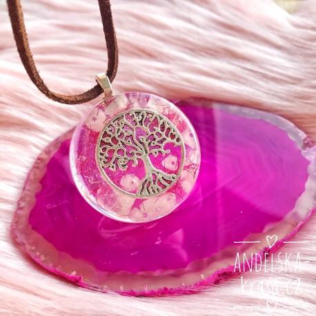 Orgonitový náhrdelník Láska Ochrana
