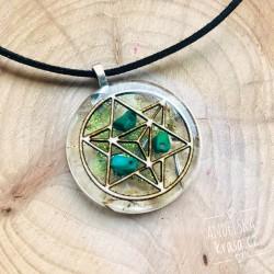 Orgonitový náhrdelník Merkaba Klid mysli