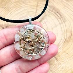 Orgonitový náhrdelník Merkaba Vztahy