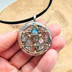 Orgonitový náhrdelník Merkaba Uvolnění