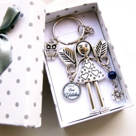 Andělka v krabičce Paní učitelce VELKÁ 2