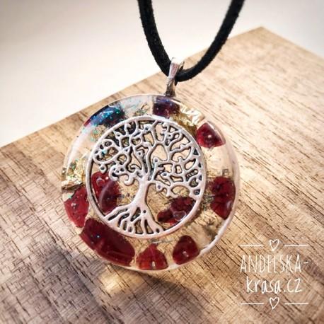 """Orgonitový náhrdelník """"Rovnováha organismu"""""""