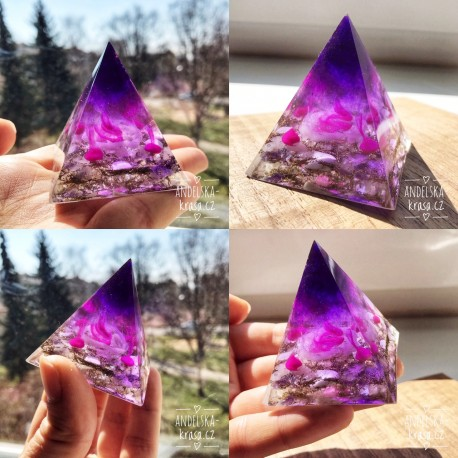 Pyramida Harmonie Meditace Vyšší vědomí