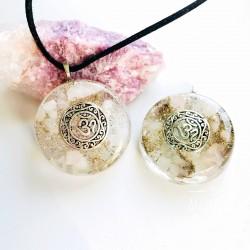 Orgonitový náhrdelník Přijetí sebe Óm