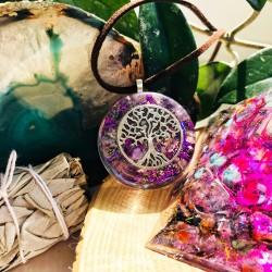 Strom života orgonit náhrdelník Sebedůvěra