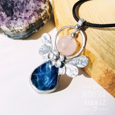 Náhrdelník Anděl Lapis Lazuli Emoce