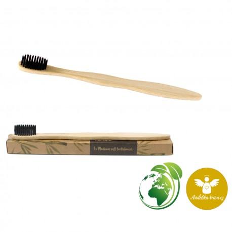 Bambusový kartáček Středně měkký