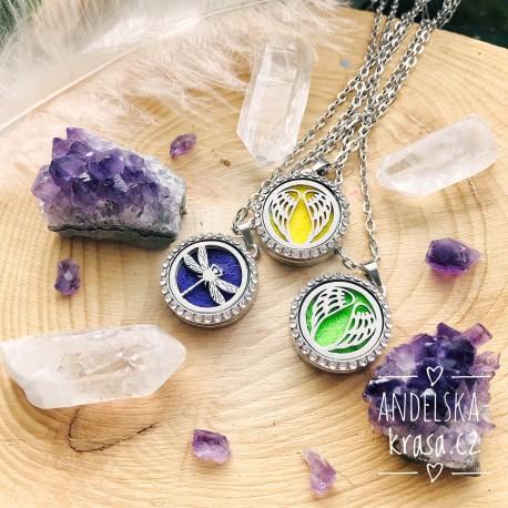 Aroma éterický náhrdelník Andělská křídla