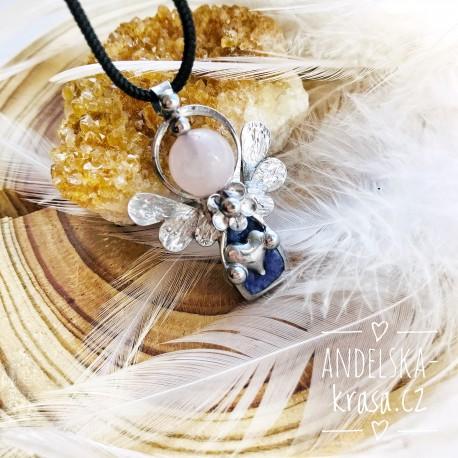 Náhrdelník Anděl Uzdravím Tvou duši čaroit