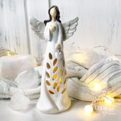 Anděl svítící LED