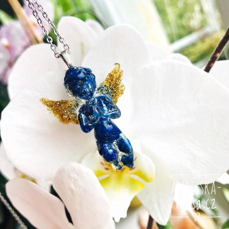 Orgonit anděl Lapis lazuli Uvolnění