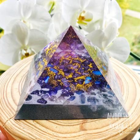 Orgonitová pyramida Vesmírné spojení