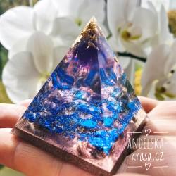 Orgonit Uklidnění Lapis lazuli