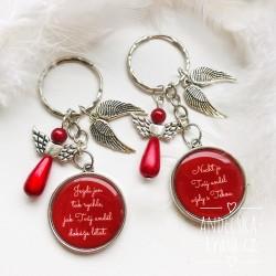 Klíčenka dárková Anděl strážný