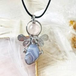 Náhrdelník Anděl Uklidním Tvou mysl