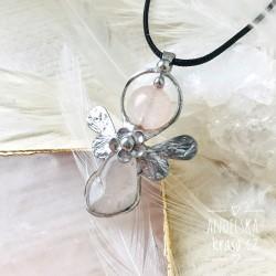 Náhrdelník Anděl Růženín Přináším Lásku