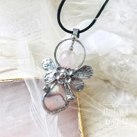 Náhrdelník Anděl Achát Sebedůvěra