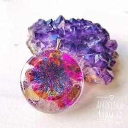 Orgonit náhrdelník Mandala radosti