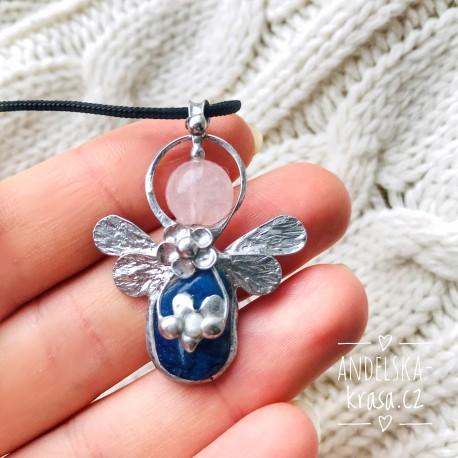 Náhrdelník Anděl Lapis Lazuli Uvolnění
