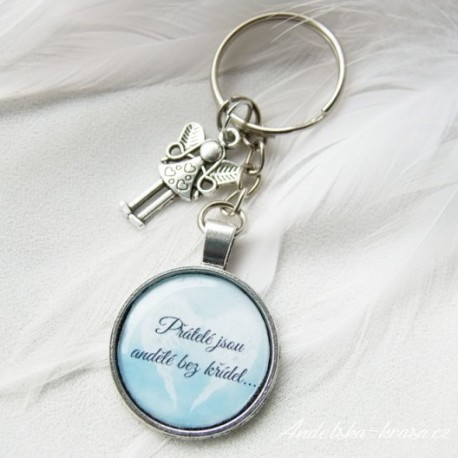 Andělská klíčenka Přátelství