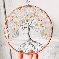 Strom Života Růženín Křišťál Láska Vztahy