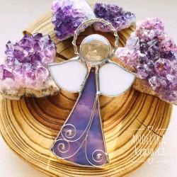 Anděl Duchovní vůdce okenní vitráž