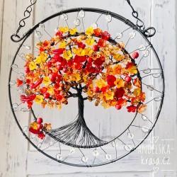 Strom života 2. čakra Radost Ženství 20 cm