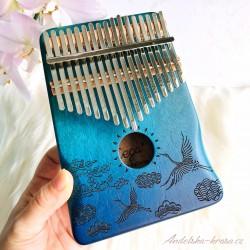 Kalimba modrá - Harmonizace čaker